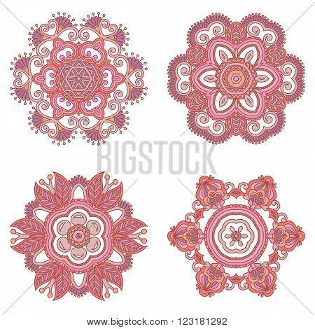 Vector Decorative Round Elements.