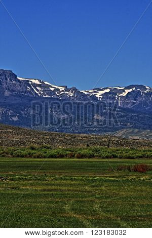 Dubois Wyoming Absaroka Mountains