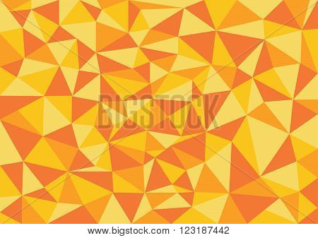 Low poly style vector orange low poly design low poly style illustration Abstract low poly background vector