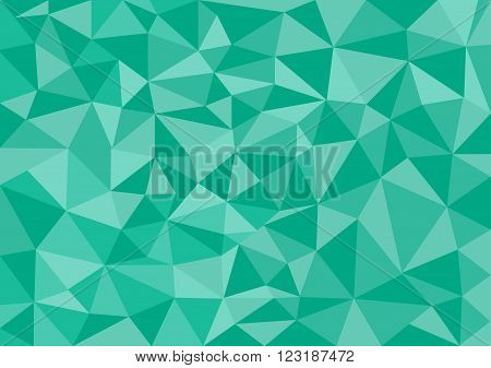 Low poly style vector green low poly design low poly style illustration Abstract low poly background vector