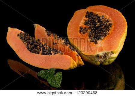 Fresh And Tasty Papaya