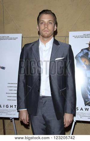 LOS ANGELES - MAR 22: Jake Abel at the Premiere of 'I Saw The Light' at the Egyptian Theatre on March 22, 2016 in Los Angeles, California