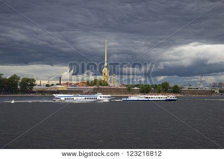 ST. PETERSBURG, RUSSIA - JULY 23, 2013:
