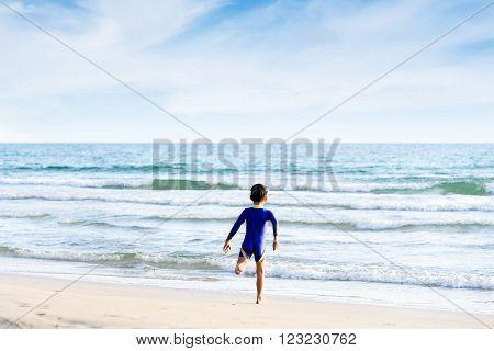 Bon Run On The Beach
