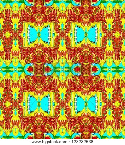 Butterfly   the picture is art and symmetrically depict patterns that can be applied in various fields, in particular textiles.