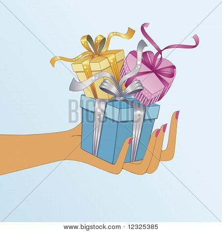 Hand Holding Gifts.eps
