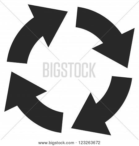 Circulation vector icon. Circulation icon symbol. Circulation icon image. Circulation icon picture. Circulation pictogram. Flat gray circulation icon. Isolated circulation icon graphic.