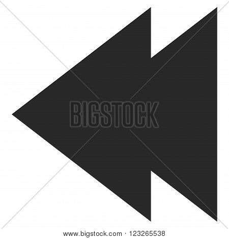 Move Left vector icon. Move Left icon symbol. Move Left icon image. Move Left icon picture. Move Left pictogram. Flat gray move left icon. Isolated move left icon graphic. Move Left icon illustration.