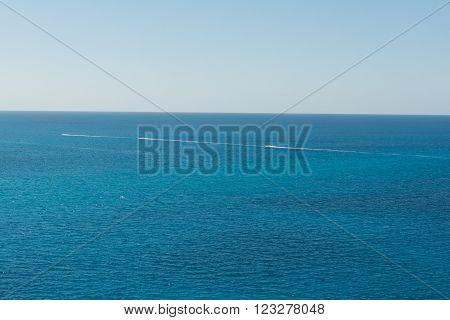 Caribbean Speedboat Traffic