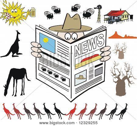 Australian news cartoon