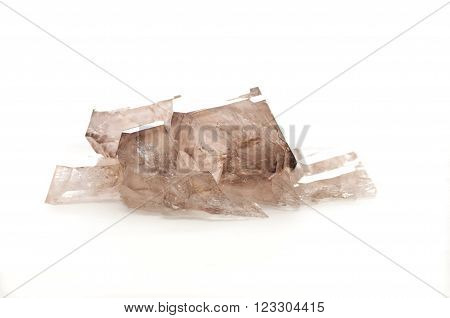 smoky quartz crystal mineral sample a rare earth mineral