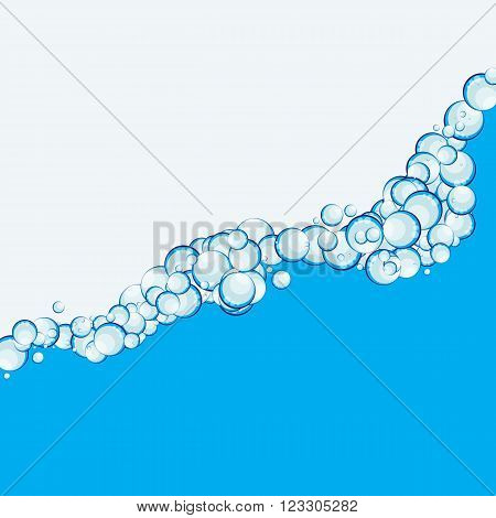 Soap Bubbles Abstract Background Vector Illustration EPS10