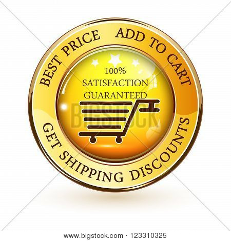Best Price. Add to cart.  Get Shipping discounts - web shiny glossy button on white background.