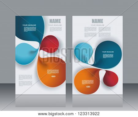 Vector banners template design witn abstract lines structure. Vector illustration.