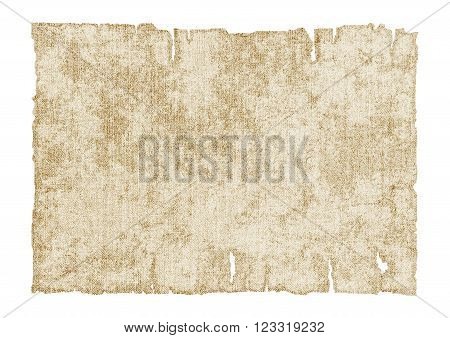 collection of canvases.old ragged canvas.design element.vector illustration