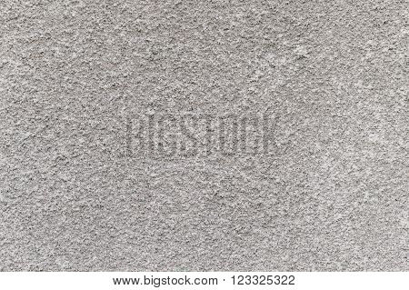 rough texture of gray plaster on a wall, cement, putty