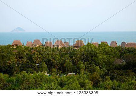 Seaside Resort, Bungalow, Nha Trang, Vietnam