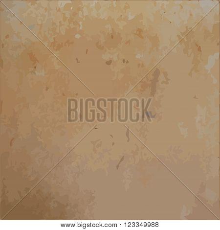 Rusty brown scratched metal sheet vector texture