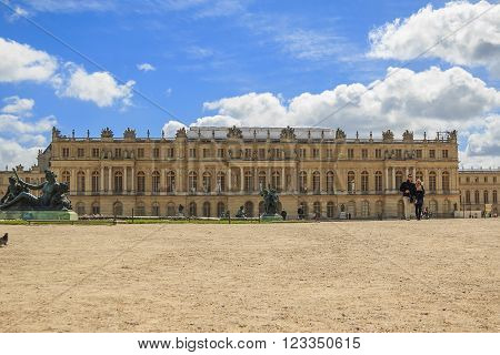 Versailles, France - May 12: This is palace