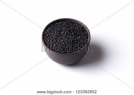 Many Black Beluga Lentil Seeds