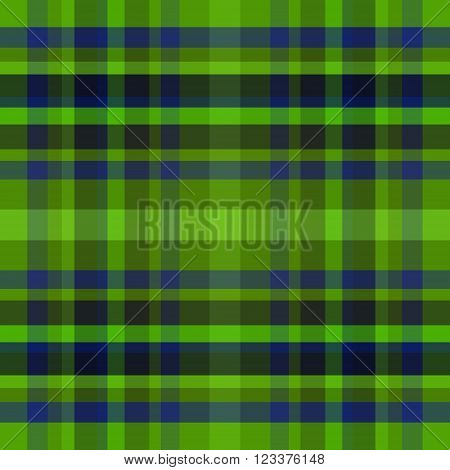 abstract vector tartan seamless - green and blue