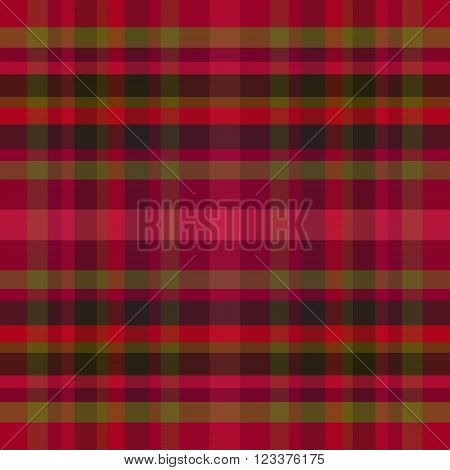 abstract vector tartan seamless - purple and green