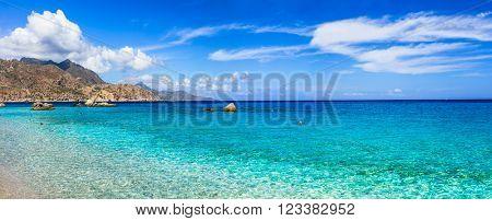 amazing beaches of Greek islands - Apella in Karpathos