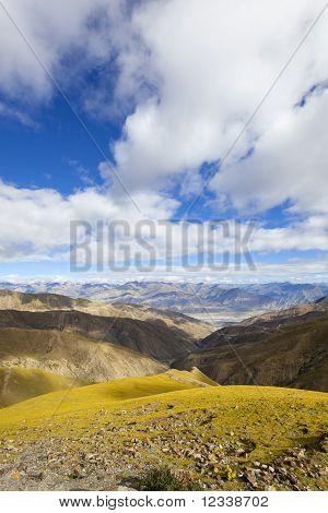 tibet: plateau terrain