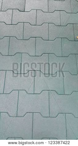 Pattern of rubber floor, can be use as background