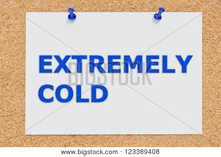 Extremely Cold Concept
