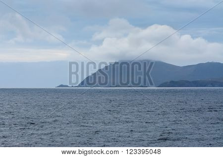 Cape Horn Tierra del Fuego Patagonia Southern Chile South America at 7.40pm