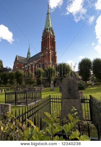 Stockholm: Cemetery of the Saint Johannes Church