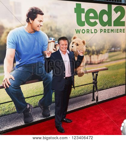 NEW YORK-JUN 24: Producer Jason Clark attends the 'Ted 2' world premiere at the Ziegfeld Theatre on June 24, 2015 in New York City.