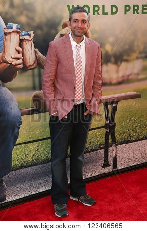 NEW YORK-JUN 24: Alec Sulkin attends the 'Ted 2' world premiere at the Ziegfeld Theatre on June 24, 2015 in New York City.
