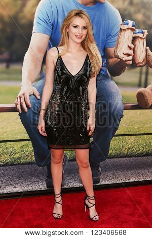 NEW YORK-JUN 24: Bella Thorne attends the 'Ted 2' world premiere at the Ziegfeld Theatre on June 24, 2015 in New York City.