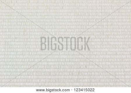 Tatami mat texture background, top view japan style.
