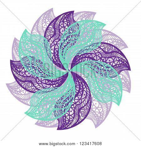 Fresh Color Vector Flower