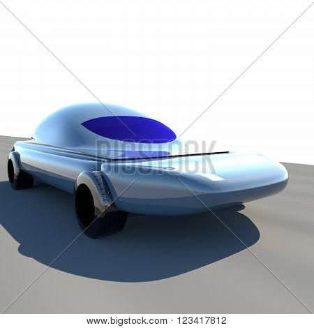 Futuristic Car 3D