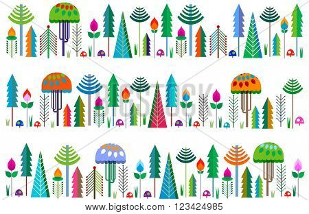 whimsy trees