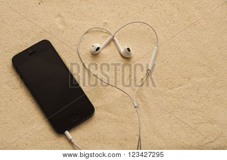 Phone With Headphones