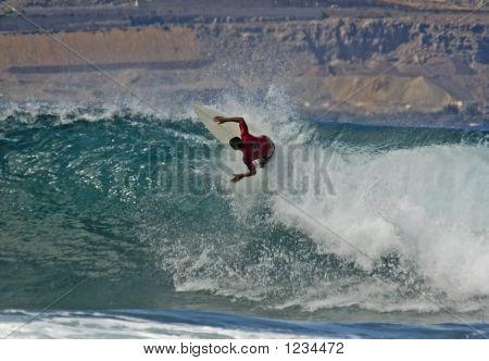 Surfer In Las Palmas