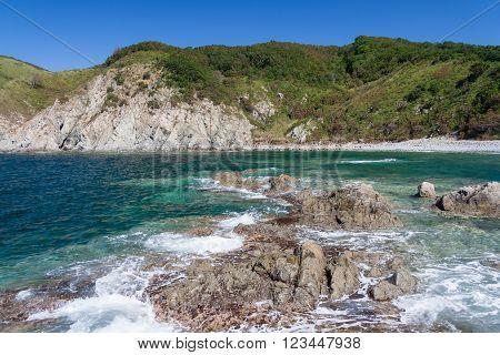Nature, Beaches And Islands Near Vladivostok,  Russia