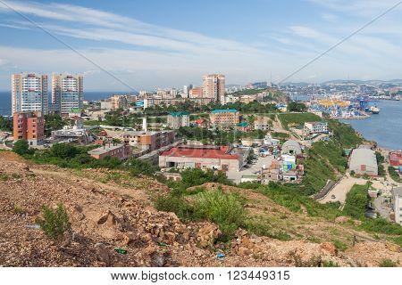 View of Vladivostok, Primorsky Krai,  Russian Federation