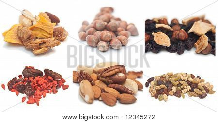 Mixed Nuts And Dried Fruit Collection