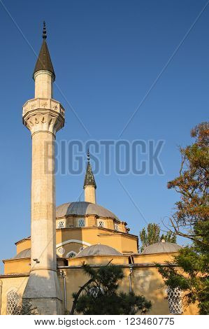 Crimea. Evpatoria Juma-Jami Mosque (Jami Khan) Devlet Giray Khan founded in 1552