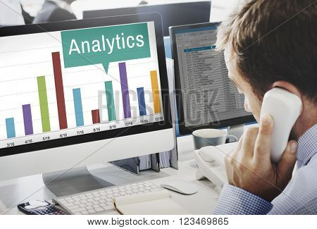 Analytics Analysis Insight Connect Data Concept