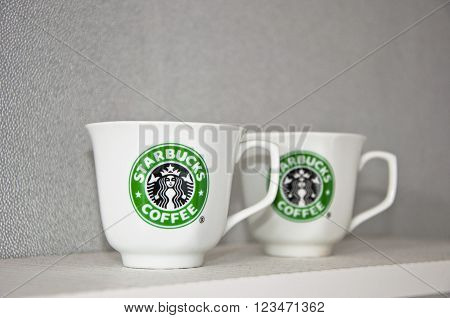 White Starbucks Cups