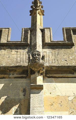 Gargoyle On Church