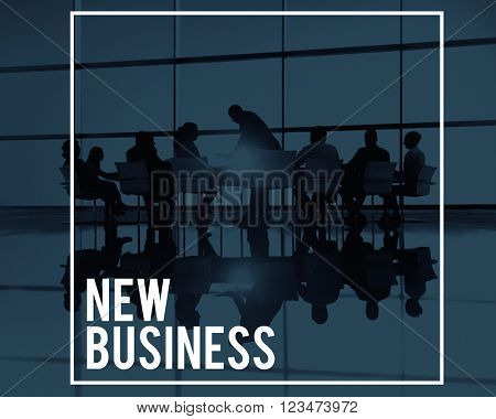 New Business Entreprise Start Up Creativity Goals Concept
