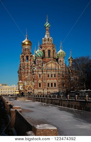 St. Petersburg Church of the Savior on the Blood of Christ erected in memory of the fact that this place 1 [13] in March 1881 as a result of the attempt was mortally wounded Emperor Alexander II